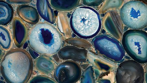 Bild von 8531 Blue Agate Caesarstone